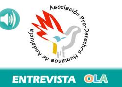 «Una persona que entra en el CIE de Algeciras, entra en una cárcel», Andrés de la Peña, delegado de Asociación de ProDerechos Humanos de Andalucía en el Campo de Gibraltar