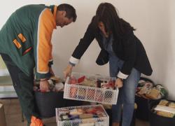 La Campaña de Recogida de Alimentos del municipio granadino de Ogíjares recoge 500 kilos de comida para los más desfavorecidos