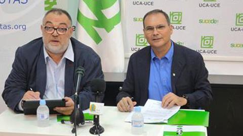 La Unión de Consumidores de Andalucía y la Asociación de Internautas han firman un convenio de colaboración para proteger los derechos e intereses de los usuarios y usuarias de telecomunicaciones
