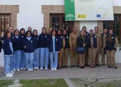 El Taller de Empleo Caicena de la localidad cordobesa de Almedinilla cumple tres meses de funcionamiento, formando a su alumnado en cuidados geriátricos y trabajos de arqueología