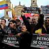 Diversos ciudadanos colombianos y organizaciones sociales van a participar en una marcha este viernes para rechazar la destitución del alcalde de Bogotá, en Colombia