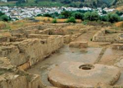 """Los restos arqueológicos de """"El Ruedo"""", en el municipio cordobés de Almedinilla, se integran en la Red de Villas Romanas de Hispania con el objetivo de fomentar, conservar y difundir el yacimiento"""