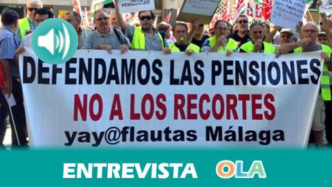 «El 40 por ciento de pensionistas cobra entre 500 y 600 euros y con eso tienen que mantener a toda una familia», Carmen Morillo, Yayoflautas de Málaga