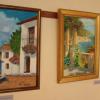 """San Juan de Aznalfarache inaugura la muestra de pintura """"Amparo Zurita"""" como ejemplo del interés cultural de la localidad y dentro de las actividades del 8 de marzo"""