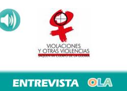 """«La violencia sexual en niños y adolescentes es un arma de guerra que tiene como fin controlar, difundir el miedo y obtener información», Valentina González, portavoz de la campaña """"Saquen mi cuerpo de la guerra"""""""