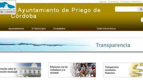 El Ayuntamiento de Priego de Córdoba estrena un nuevo portal web con más servicios virtuales e información municipal para el ciudadanía