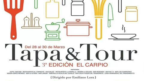 El Carpio acoge este fin de semana una nueva edición de  'Tapatour' con el objetivo de poner en valor la gastronomía de la localidad