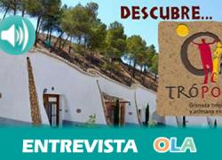 """""""Trópolis es un complejo de ocio y cultura que pone en valor el Patrimonio Etnográfico de la Comarca de Guadix a través de talleres, senderismo y actividades deportivas"""", Yolanda Magán, responsable de guías del museo de Trópolis"""