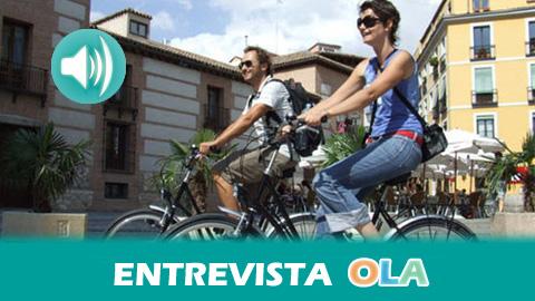 «Hay personas que no han probado la bicicleta y cuando la descubren, se dan cuenta de que es un transporte estupendo para ir al trabajo o al centro de estudios», Julián Blanco, coordinador de la Plataforma Carril Bici Córdoba