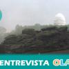 """""""Las I Jornadas de Astroturismo de Los Filabres son una manera de concienciar a las personas de que la observación del cielo es un bien inmaterial"""", Javier Barbero, secretario de la Asociación de Amigos del Observatorio Astronómico de Calar Alto (Almería)"""