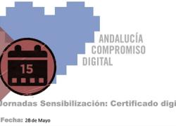 Alcalá la Real organiza una jornada informativa gratuita sobre el certificado digital que pretende conocer qué es, para qué sirve, cómo se emite,qué seguridad tiene, cómo se instala y cuáles son sus principales ventajas