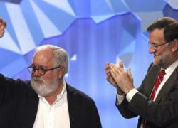 El Partido Popular gana las elecciones europeas con 16 escaños, seguido por el Psoe con 14 e IU con 5, en unas elecciones que ponen en jaque el bipartidismo