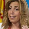 La presidenta de la Junta de Andalucía, Susana Díaz, valora la figura del rey en la democracia española y asegura que el relevo en el trono de España supone un cambio importante para el país