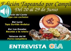 «Los establecimientos que participan en el II Tapeando por Campillos ponen en valor la gastronomía local y su trabajo diario», Jesús Manuel Galeote, alcalde de Campillos (Málaga)