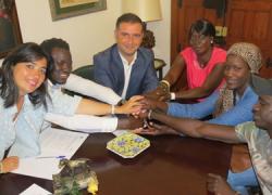 Moguer renueva el convenio de colaboración con la asociación para la solidaridad senegalesa Diappo, con el fin de seguir trabajando conjuntamente por la integración de este colectivo