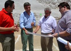 Comienzan las obras del Centro de Iniciativa Empresarial de Posadas en el que la Diputación de Córdoba va a invertir 300.000 euros con el objetivo de la creación de empleo en la comarca