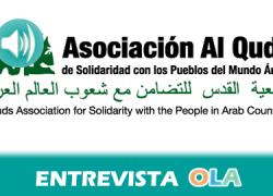 «Pedimos respuestas de boicot institucional y entre esas medidas está romper el principio de acuerdo de colaboración entre Andalucía e Israel que se firmó el pasado mayo» Javier Díaz Muriana, Alquds