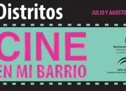 """El programa cultural de Jerez de la Frontera, """"Cine en mi barrio"""", continúa sus proyecciones cinematográficas en diferentes barriadas de la localidad, concretamente en las de Constitución y Las Torres"""
