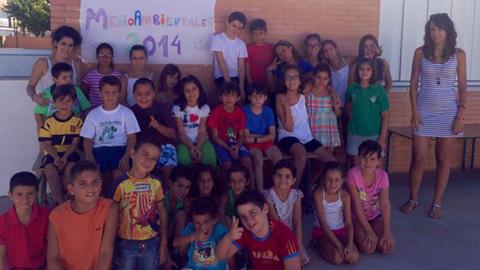 Más de 70 niños y niñas de Guillena y sus pedanías participan en 17ª edición de las Escuelas Medioambientales con el objetivo de sensibilizar a través del ocio y el entretenimiento