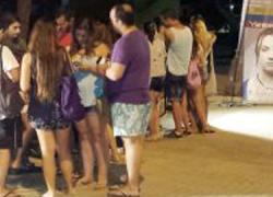 Mazagón acoge la campaña de información sexual 'Ya, pero llama' con el objetivo dedar a conocer a los jóvenes un servicio público que se presta desde la Junta de Andalucía