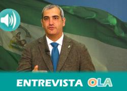 «La reforma electoral que propone el PP es una medida oportunista y totalmente interesada para conseguir mantener alcaldías», Antonio Jesús Ruiz, secretario general Partido Andalucista