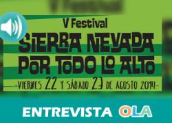 """""""Sierra Nevada por todo lo alto"""" es un festival pequeño, familiar, pero el entorno privilegiado en el que se celebra ha conseguido que la gente se vuelque con él"""", Fernando Novi, director Artístico de """"Sierra Nevada por todo lo Alto"""""""