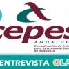 """""""En la contratación pública se deberían aplicar las cláusulas sociales porque la oferta más ventajosa es la que mantiene empleo y calidad"""" Lola Sanjuán, vicepresidenta de CEPES-A"""