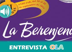 """""""Las III Jornadas de la Berenjena tratan de potenciar un producto que es muy nuestro ya que la gastronomía es cultura y turismo"""", Juan Vicente Córcoles, historiador, periodista y coordinador-promotor de las Jornadas, Andújar (Jaén)"""
