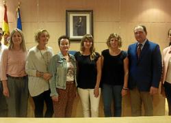 Dos miembros de UNICEF viajan a Aljaraque  para reunirse con los responsables del proyecto 'Ciudad Amiga de la Infancia', con vistas a que la localidad onubense pueda alcanzar en octubre este distintivo