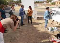 Nerva celebró el pasado sábado 27 de septiembre el XV Certamen de Pintura al Aire Libre Villa que repartió un total de 2000 euros entre los autores de las mejores obras presentadas