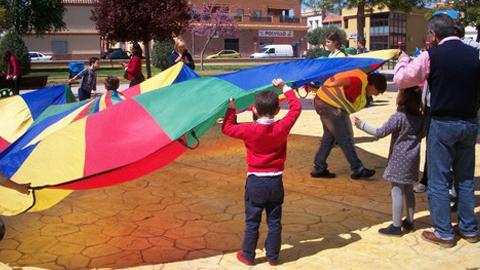 La Rinconada celebra la segunda edición del Día del Juego con sus parques como escenario para realizar actividades lúdicas y gratuitas