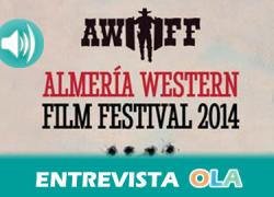 """""""El Almería Western Film Festival dedica tres días al cine western con el objetivo de potenciar el turismo y el cine en el desierto de Tabernas"""", María de las Nieves Jaén, alcaldesa de Tabernas (Almería)"""