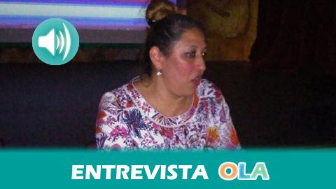 «La gente nos ve como andaluzas de a pie pero a veces no quieren reconocer nuestra identidad cultural como gitanas que somos», Dolores Fernández, presidenta de la Asociación de Mujeres Gitanas Romí