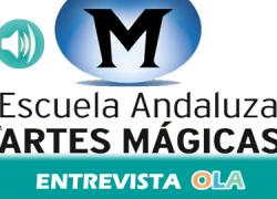 """""""La magia se basa mucho en la habilidad, la psicología y en cómo contar las cosas, pero la ciencia siempre está detrás"""", Alfonso Salazar, coordinador de la Escuela Andaluza de Artes Mágicas"""