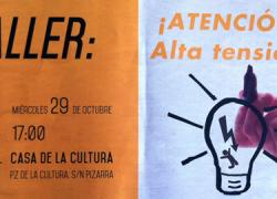 Los habitantes de Pizarra resuelven sus dudas sobre la nueva reforma eléctrica gracias al taller denominado ¡Atención Alta Tensión!