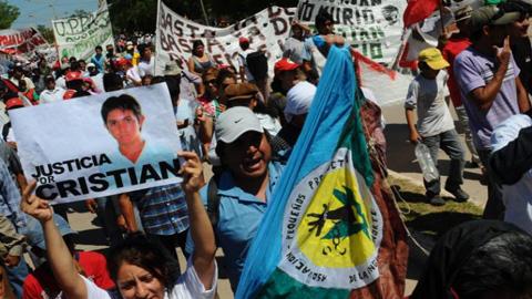 El 4 de noviembre juzgan a los presuntos asesinos del campesino argentino Cristian Ferreyra. Son sicarios contratados por un empresario de la localidad de Monte Quemado que pretendía apropiarse de su tierra