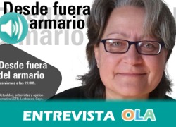 «No hay ningún programa, salvo lo que hacen las asociaciones con sus escasos recursos, para evitar la discriminación por homofobia», Carmen Rodríguez, directora del programa de OLA 'Desde fuera del armario'