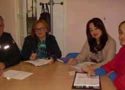 Huércal de Almería estrecha su colaboración con las diferentes instituciones y agentes sociales para la mediación y la prevención del absentismo escolar