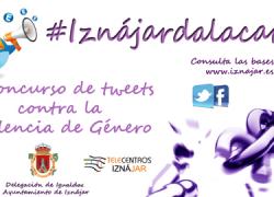 Vecinos y vecinas de Iznájar participan en la II edición del concurso de tweets contra la violencia de género #iznájardalacara hasta el 25 de noviembre, Día Internacional contra la Violencia de Género