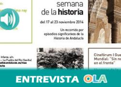 «La Semana de la Historia ha pretendido acercar a los más pequeños a lo que hemos sido a través de talleres sobre prehistoria, Al-Ándalus y la cultura romana», Paloma Cano, coordinadora del Museo de la Autonomía de Andalucía