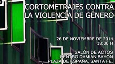 Santa Fe celebra hoy un festival de cortometrajes con motivo del día Internacional Contra la Violencia de Género para sensibilizar acerca de esta lacra social
