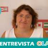 «Esta ayuda es sólo un parche porque, si la situación económica no cambia, si los inversores no vienen al tejido productivo que cree empleo, en 2016 estaremos en la misma situación», Teresa García, secretaria de Empleo de CCOO Sevilla