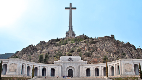 El Congreso de los Diputados vota el próximo miércoles sobre una futura reconversión del Valle de los Caídos
