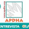 """""""Hay dejación de funciones por parte de las administraciones porque son las responsables de garantizar unas condiciones mínimas de subsistencia a la población"""", Pablo María Fernández, integrante de APDHA"""