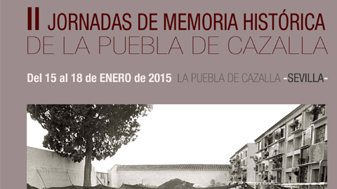 La Puebla de Cazalla organiza las II Jornadas sobre Memoria Histórica desde el 15 al 18 de enero, donde esta materia será objeto de análisis a través de conferencias, mesas de debates y recitales de poesía