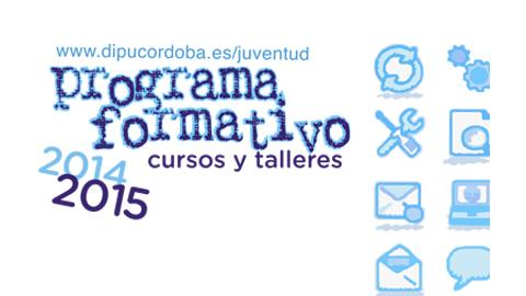 Los jóvenes de la provincia de Córdoba de entre 15 y 30 años podrán optar en 2015 a 76 cursos de formación de diferentes materias ofertados por la Diputación provincial
