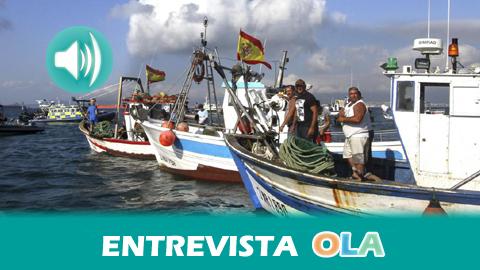 22-M: «No existe ninguna política desde la Unión Europea para poder activar la flota pesquera costera y artesanal», Mariano García, vicepresidente de la Federación Andaluza de Cofradías de Pescadores