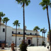 32 familias de la localidad gaditana de Trebujena protestan por el impago de las ayudas para la compra de viviendas de protección oficial que depende de la Consejería de Vivienda de la Junta de Andalucía