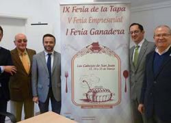 La localidad sevillana de Las Cabezas de San Juan celebra su I Feria Ganadera, la V Feria Empresarial y la IX Feria de la Tapa, el fin de semana del 13 al 15 de marzo en el recinto ferial del municipio