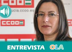 """""""Es necesario que haya un incremento salarial unido a una cláusula de revisión y que se garantice el mantenimiento de la ultractividad de los convenios colectivos"""", Miriam Pinillos, CCOO-Andalucía"""